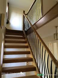model staircase fantastic black spindles staircase image design