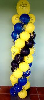 balloon arrangements independence 6ft column balloon arrangement nikko s creations