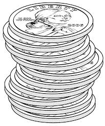 stacks of dollar coins clipart etc