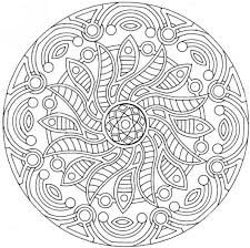 free printable mandala coloring pages complex mandala coloring