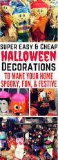 great cheap halloween decorations on a budget halloween diy