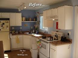 before kitchen crown molding installation the joy of moldings com