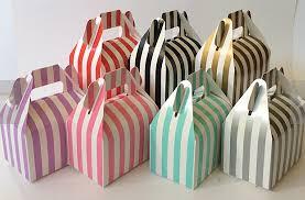 aliexpress com buy 24 stripe wedding gift boxes red black pink