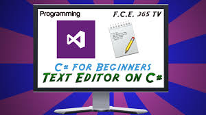 Design Text Editor Using C | how to create simple text editor in visual c sharp for beginners