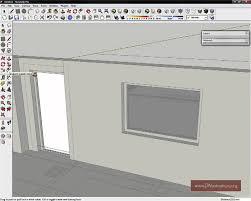 hoe maak ik een deur in sketchup sketchup training youtube