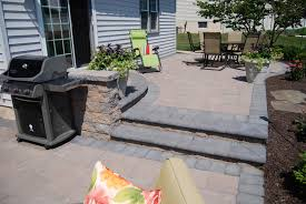 case study from old deck to a new paver patio tomlinson bomberger