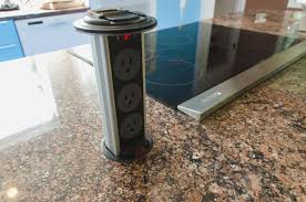 kitchen counter outlets hidden electrical outlets with seattle