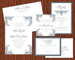 Wedding Invitation Suites Wedding Invitation Suite And Place Card With Belluccia Paperblog