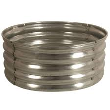 rumblestone fire pit insert 30 in galvanized round fire pit ring ds 18727 at the home depot