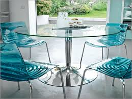Glass Dining Table Sets by Best Modern Round Glass Dining Table Decor Bfl 971