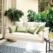 sunday porch swing ballard design 799 00 backyard ideas