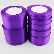 satin ribbon wholesale 25 yards roll purple single satin ribbon wholesale gift wrappin