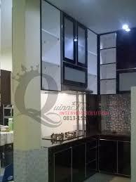 modern kitchen set interior design