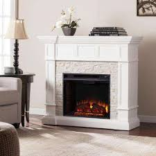 Corner Electric Fireplace White Corner Electric Fireplaces Electric Fireplaces The