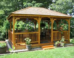 backyard pavilion plans ideas home outdoor decoration