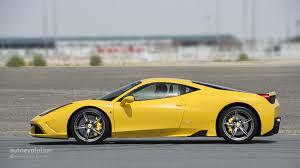 Ferrari 458 Yellow - ferrari 458 speciale review autoevolution