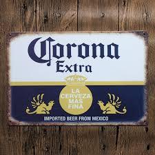 tin home decor 30x20cm beer from mexico retro vintage home decor tin sign for wall