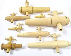 Faucet Or Spigot Small U0026 Medium Sized Taper Wooden Wine Taps Vinegar Spigots