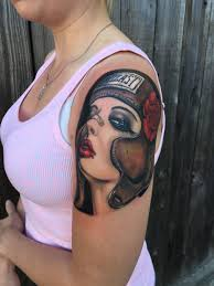 brian viveros tattoo by monte livingston at living art gallery