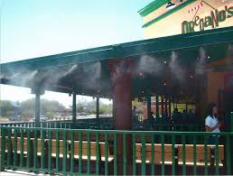 Misters For Patio by Arizona Restaurant Misting System Outdoor Cooling Systems Mistair