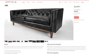 Black Leather Sofa Modern Our New Modern Chesterfield Black Leather Sofa Chris