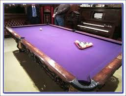 purple felt pool table medium sized pool tables pool table felt color best medium size pool