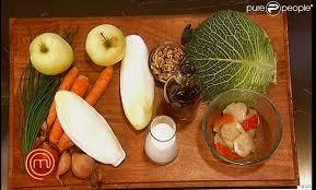 inventer une recette à partir de ces ingrédients imposés purepeople