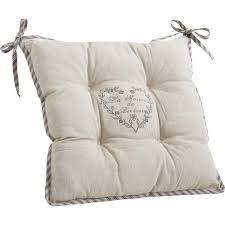 coussins de chaises de cuisine coussin de chaise maison du bonheur