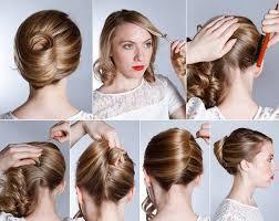 french hairstyle banana twist diy medium hair styles ideas 9306