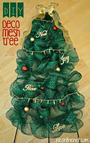 diy deco mesh tree nic on the net