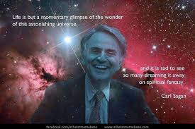 Atheist Meme Base - carl sagan on the wonder of the universe via atheist memebase