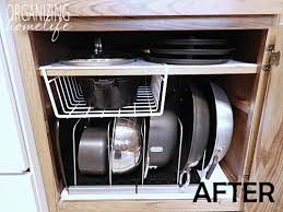 How To Organize Small Kitchen Appliances - diy knock off organization for pots u0026 pans how to organize your