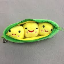peas in a pod keychain peas in a pod plush keychain hilltop gifts