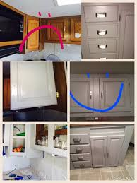 how to apply valspar cabinet paint cabinets redone rocky bluffs valspar signature primer in one