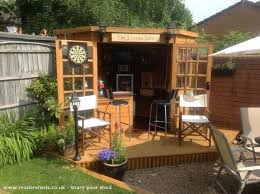 this is how to make your shed into your own private bar backyard