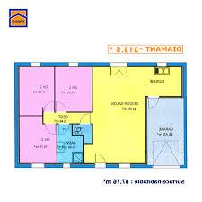 plan maison simple 3 chambres plan maison 100m2 3 chambres amazing plan maison plain pied