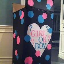 balloons in a box gender reveal girl gender party balloons gender reveal box fill with blue or