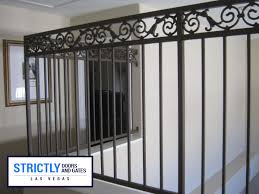 las vegas balcony railings company strictly doors and gates