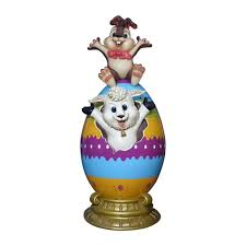 Giant Easter Eggs Decorations easter decorations giant easter eggs bunnies u0026 more