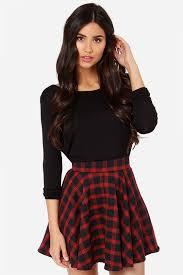 plaid skirt skirt plaid skirt mini skirt high waisted skirt 47 00