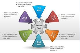 free round powerpoint diagram free powerpoint templates