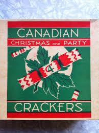 vintage canadian christmas cracker box canadiana pinterest