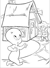 casper surprised coloring pages casper coloring pages