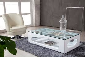 Living Room Glass Table Contemporary Coffee Tables Completing Living Room Interior Design
