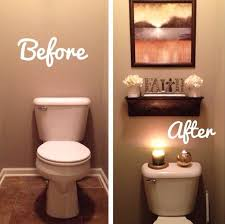 Amusing Great Decorative Ideas For Small Bathrooms And Before