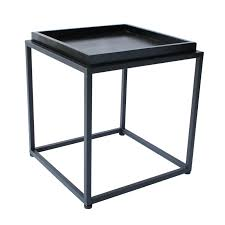 Metal Tray Coffee Table Tray End Table Hammary 204 918 New River Tray Top End Table