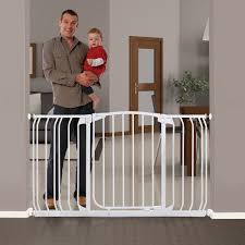 Extra Wide Gate Pressure Mounted Dreambaby Extra Wide Baby Gate 38