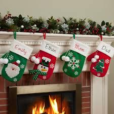 Stocking Designs by Personalized Mitten Stocking Walmart Com