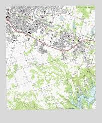 killeen map killeen tx topographic map topoquest