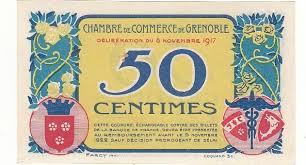 chambre de commerce granville 50 centimes 27 sept 1921 chambre de commerce de granville neuf pirot